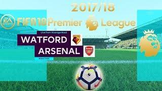 Fifa 18   watford vs arsenal   premier league 2017/18   ps4 full gameplay