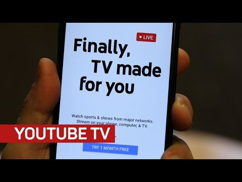 What's it like to use YouTube TV? We go hands-on