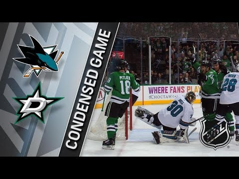San Jose Sharks vs Dallas Stars – Dec. 31, 2017 | Game Highlights | NHL 2017/18. Обзор матча