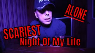 ALONE (SUSANS HAUNTED TRAILER) ONE OF THE SCARIEST NIGHTS OF MY LIFE.