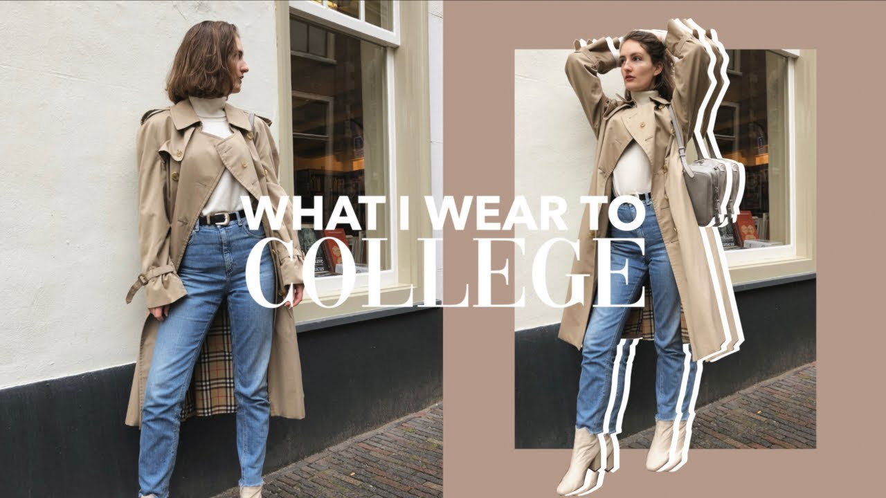 What I Wear to College // A week in Outfits Winter Edition 4