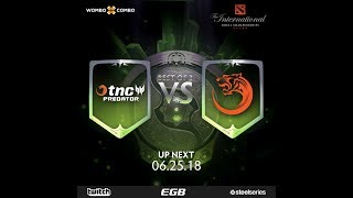 TNC Predator vs TNC Tigers Game 1 l The International 2018 SEA Qualifiers Losers' Finals