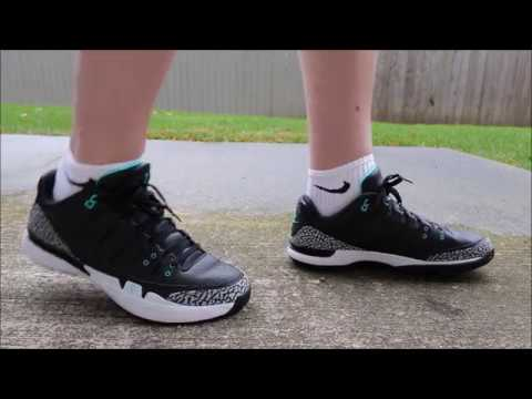 uk availability 3d56d 755c3 Nike Zoom Vapor RF X AJ3 ATMOS Review and On Feet - YouTube