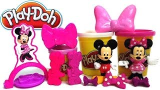 Play Doh Minnie Bows Play Doh Minnie Mouse Make Bows Shoes Disney Junior Mickey Mouse Clubhouse Toy