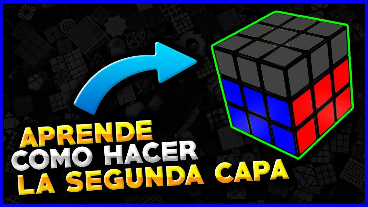 Como Armar Un Cubo De Rubik Segunda Cara Como Resolver Un Cubo De Rubik 3x3 Youtube
