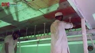 How to make false ceiling decore 2018 || gypsum ceiling dicor