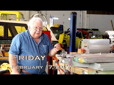 EVTV Friday Show - February 17, 2017.  Cracking the TEsla Battery Module BMS