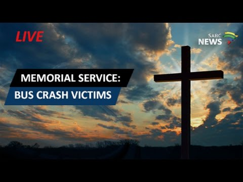 Memorial service for bus crash victims