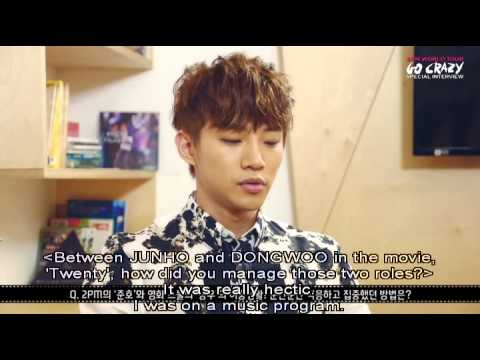 2PM GO CRAZY IN SEOUL Special Interview - Junho