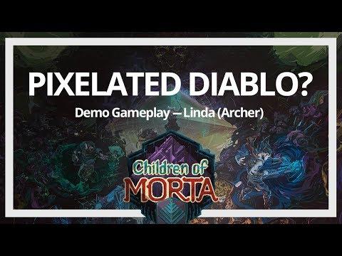 Children of Morta Demo - Linda Gameplay  