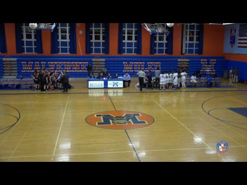 Malverne Girls Varsity Basketball vs Friends Academy - 01/03/2019