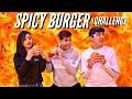 SPICY BURGER CHALLENGE | Rimorav Vlogs thumbnail