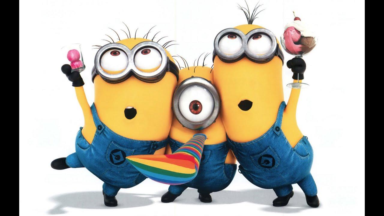 Happy Birthday Minions Sing Youtube