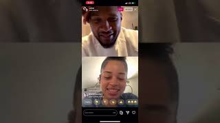 Usher On Instagram Live With Ella Mai