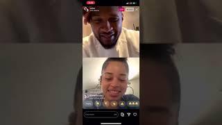 Usher on instagram live with ella mai