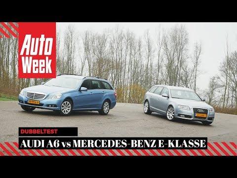 Audi A6 2.0 Avant vs. Mercedes E200 Estate - AutoWeek Review