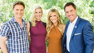 "Highlights - ""Death Al Dente"" stars Dylan Neal and Brooke Burns Interview - Hallmark Channel"