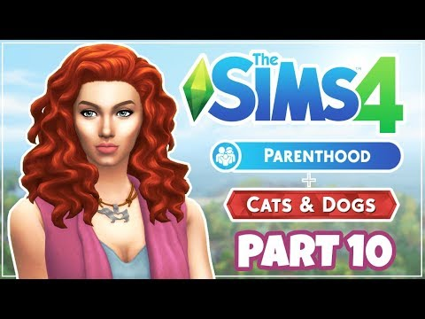 Let's Play | The Sims 4 | Parenthood & Cats And Dogs | Part 10 | First Date, First Woohoo...