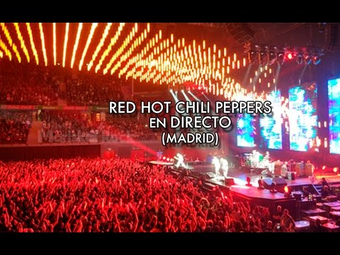 Red Hot Chili Peppers en directo (Madrid)
