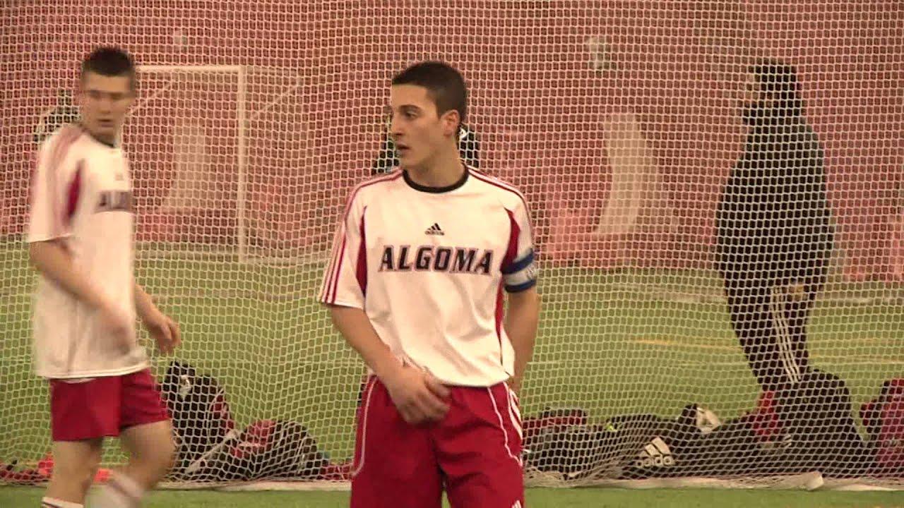 Algoma Thunderbirds Men's Soccer Team 2014 - YouTube