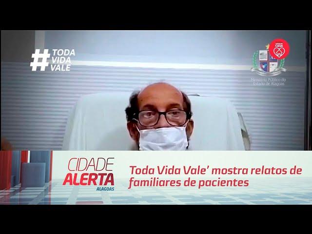 'Toda Vida Vale' mostra relatos de familiares de pacientes de Covid-19