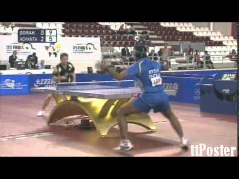 Olympic Qualification 2012: Achanta Sharath Kamal-Daniel Gorak
