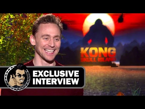Tom Hiddleston Exclusive KONG: SKULL ISLAND Interview (JoBlo.com) 2017