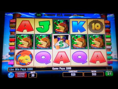 Nice win fish in a barrel slot machine youtube for Fish slot machine