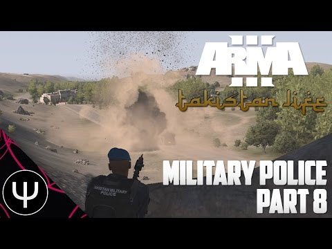 ARMA 3: Takistan Life Mod — Military Police — Part 8 — Helicopter Miscall!