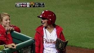 MLB Ball Girl Spectacular Moments ᴴᴰ
