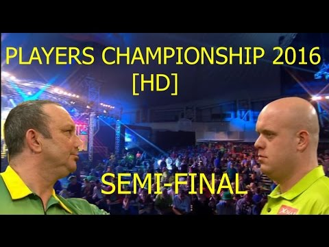 Webster V van Gerwen [SF] 2016 Players Championship Finals