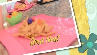 ✿‿✿ Cute Kids Show You How To Make Edible Spring Easter Bird Nests