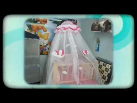 Lenceria bordada para bebes cali youtube - Cambiador de bebe de pared ...