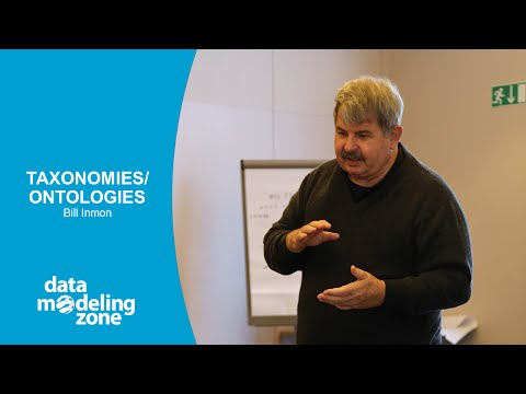 Taxonomies/Ontologies - Bill Inmon (DMZ Europe 2015)