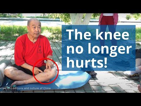 ЗДОРОВОЕ КОЛЕНО - массаж колена и точки для здоровья Му Юйчунь