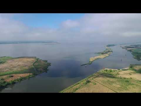 4k Drone, Преголя и Калининградский залив