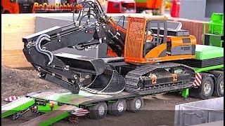 RC MODELS, TRUCKS, CONSTRUCTION MACHINE ACTION at Oktoberfest KA p5