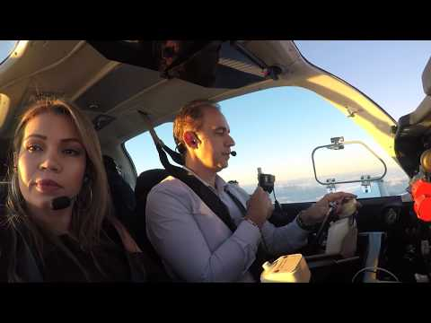 Flying to Orlando in a Private Airplane