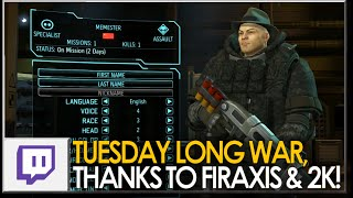STREAM VOD: Tuesday Long War, Thanks to Firaxis & 2K!