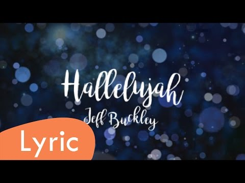 Hallelujah - Jeff Buckley (LYRIC)