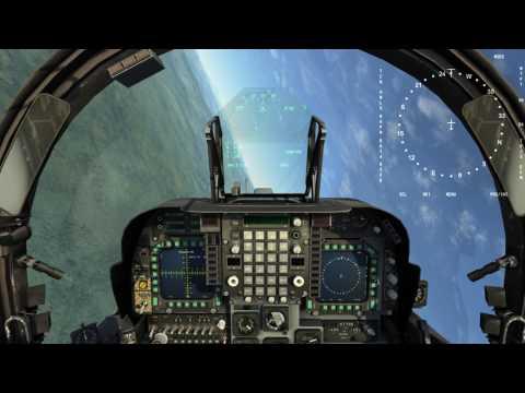 RAZBAM AV-8B N/A for DCS: MPCD test.