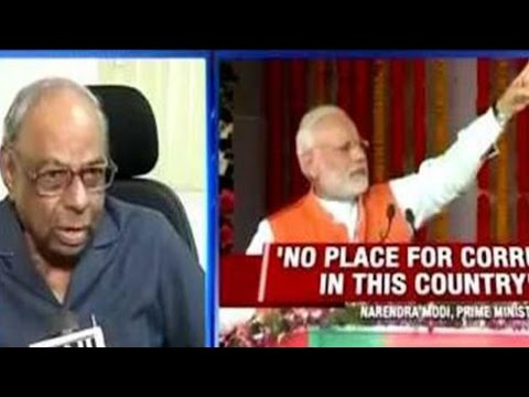 C Rangarajan Reacts To PM Modi's 'Surgical Strike' Against Corruption