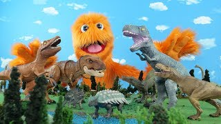 Нечітких мрії про його колекційні іграшки динозаврів! Фігурки іграшка відкриття і огляд!