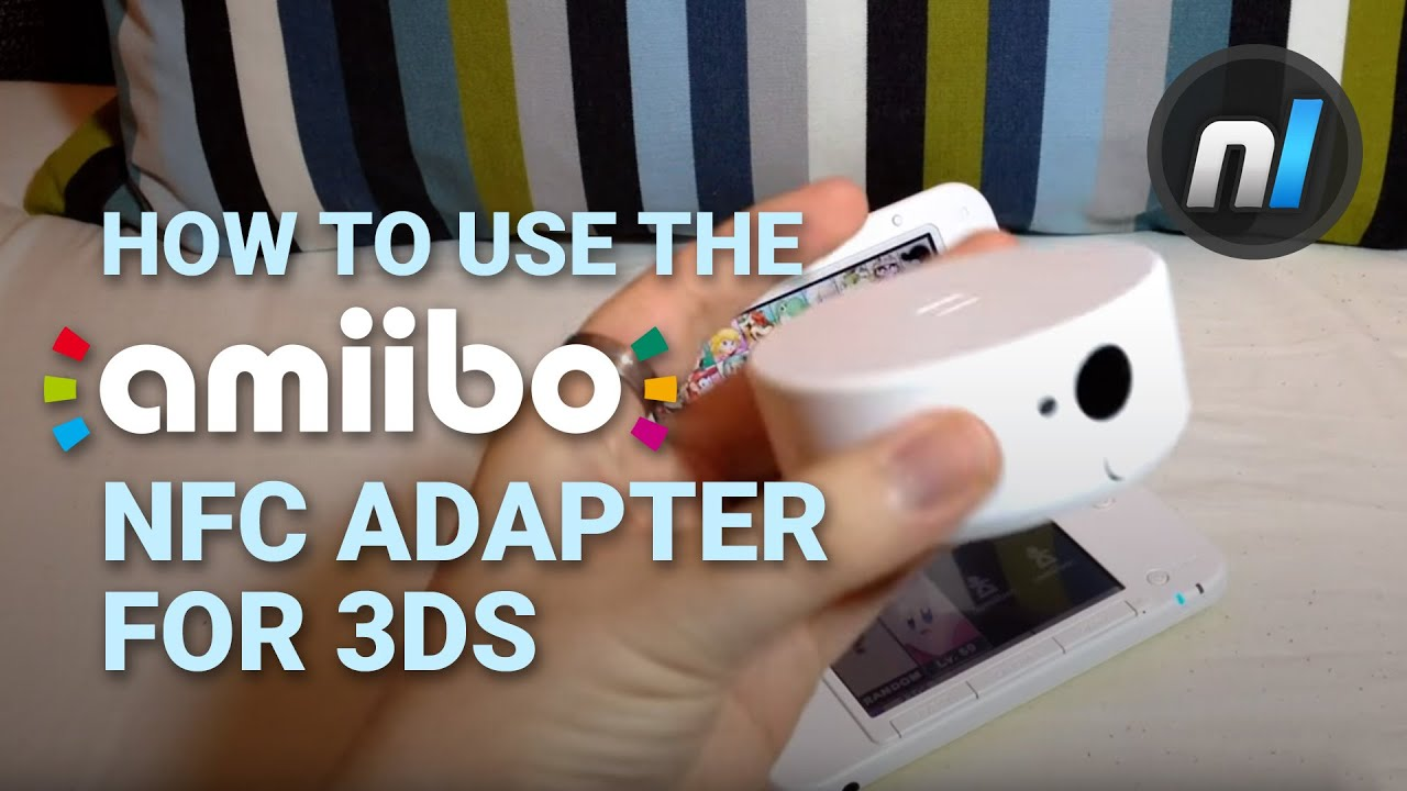 Nintendo 3ds Nfc Amiibo Reader Is It Easy To Use Youtube