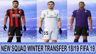 FIFA 19 NEW UPDATE SQUAD WINTER TRANSFER JANUARY 2019 (FABREGAS,DIAZ,SOLANKE,CLYNE AND MORE)