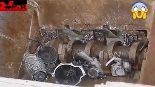 Super Power metal shredder machine