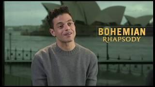 Rami Malek Interview - Bohemian Rhapsody