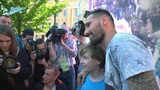 «Зенит-ТВ»: Данни попрощался с Петербургом