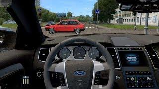 City Car Driving - Ford Taurus | Street Racing