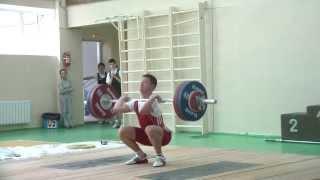 Торопов Владислав, 16 лет, в/к 69 кг. Толчок 130 кг